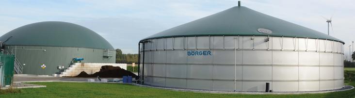 Biogas plant - Biogas | Boerger America